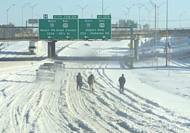 Замёрзший Техас