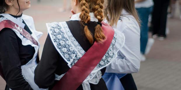 Последние звонки в школах Петербурга пройдут на улице
