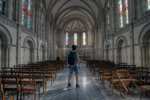 Заброшенные церкви Франции