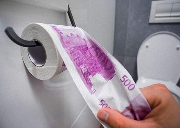Грязные деньги: туалеты трех ресторанов иодного банка Женевы засорились купюрами по500евро