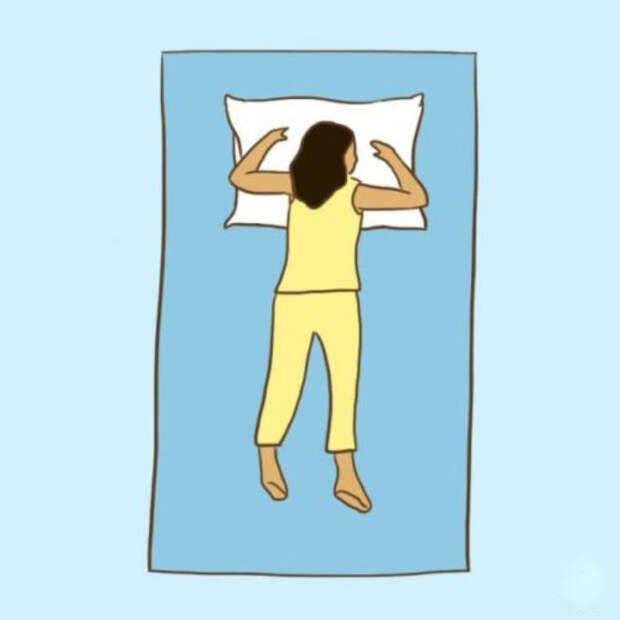9 поз для сна, которые избавят вас от болей…