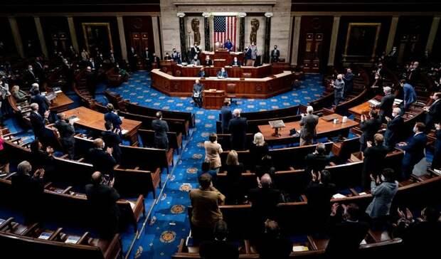 Оборонный бюджет на2022 год ссанкциями против РФприняла Палата представителей США