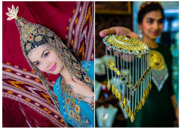 Гордость и отличительный признак для туркменской женщины. /Фото:orient.tm