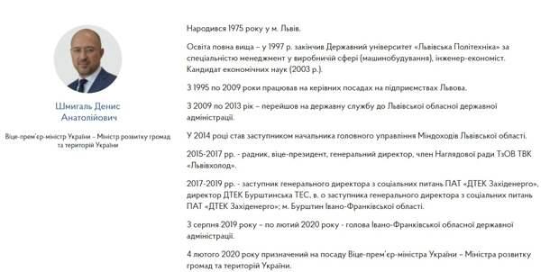 Срочная замена премьера Украины: Зеленский озвучил имя приемника Гончарука