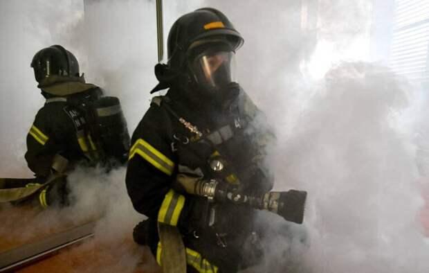 В Казани в одной из квартир произошло возгорание во время изъятия пороха и патронов