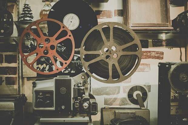 Фильм, Катушка, Проектор, Кино
