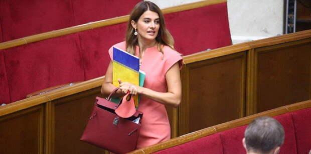 В Раде новый рекорд: Депутатша обзавелась сумочкой стоимостью в десятки тысяч долларов