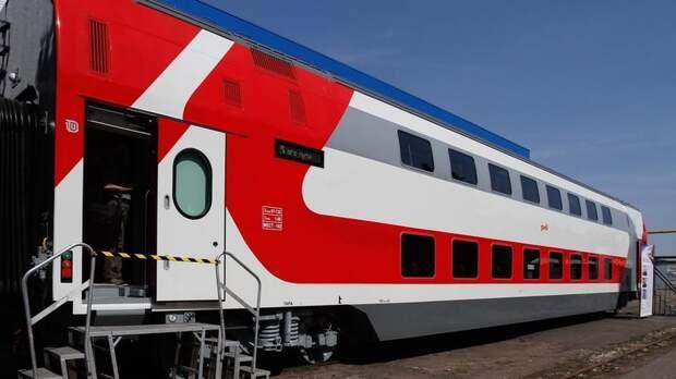 На двухэтажных поездах из Казани и Ижевска в Москву перевезли более 282 тысяч пассажиров с начала года