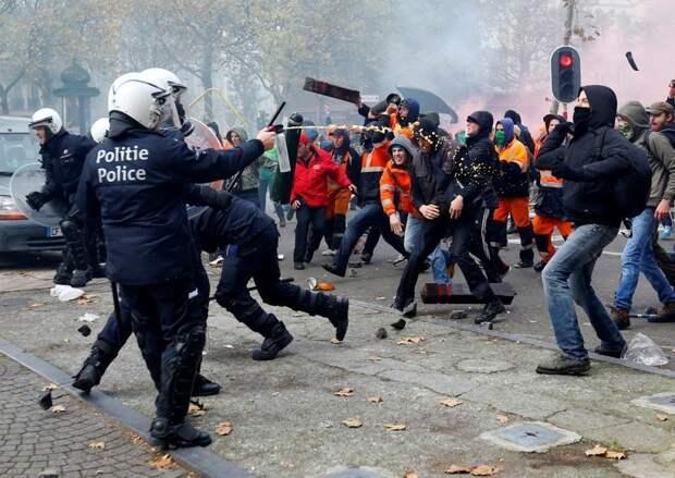Европу охватывают масштабные митинги против власти