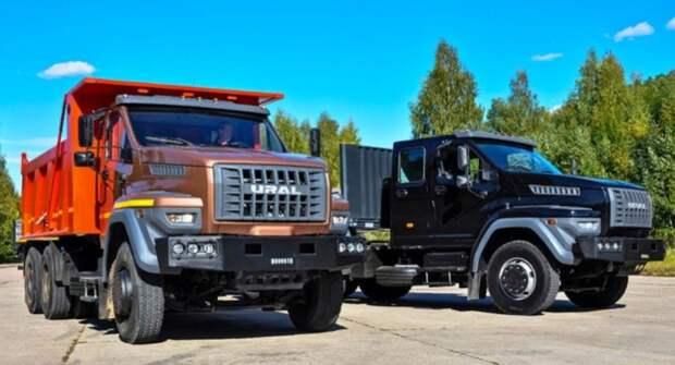 Дорожный самосвал-зерновоз «Урал-NEXT» для перевозки сельскохозяйственных грузов