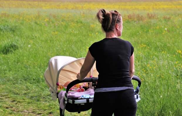 Крымчанка попыталась украсть 8 бутылок спиртного, спрятав их в коляске под младенцем