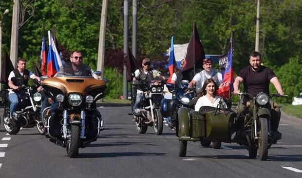 Движемся в сторону России — глава ДНР посетил байкеров (ФОТО, ВИДЕО)