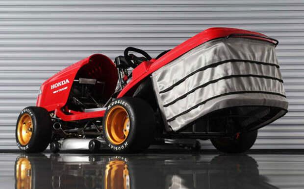 Безумная газонокосилка Honda — 6 секунд до 161 км/ч