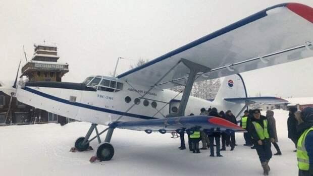 У второго самолета ТВС-2МС, который купили для полетов по Колыме, возникли технические проблемы
