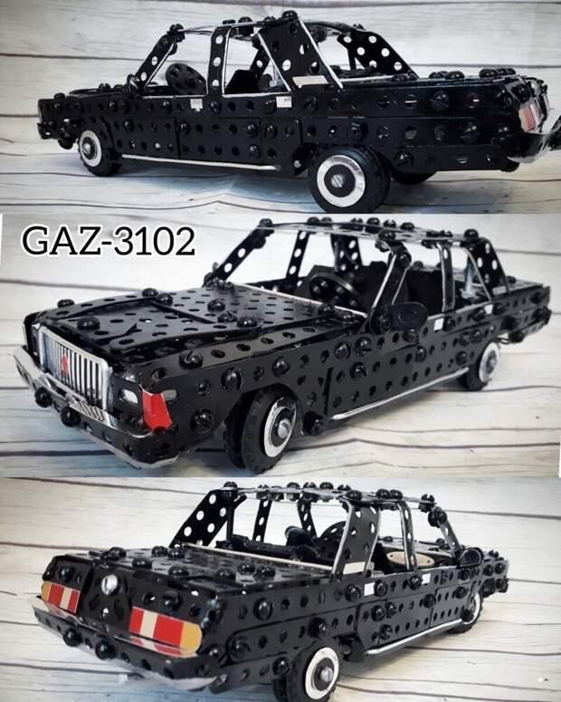 Автомодели из конструктора