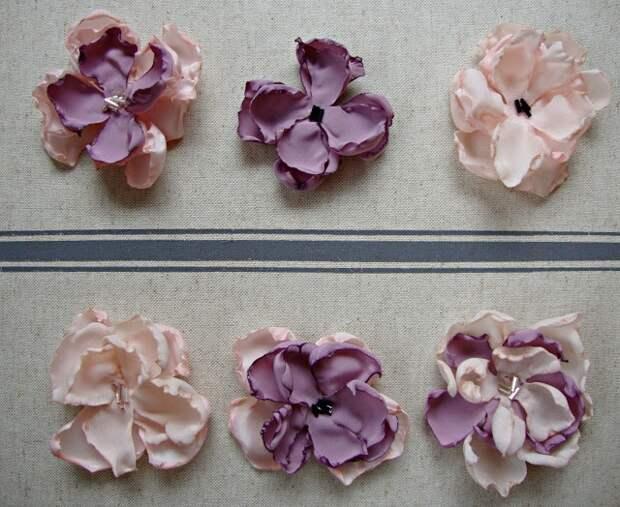 Цветочный ободок  (Diy)