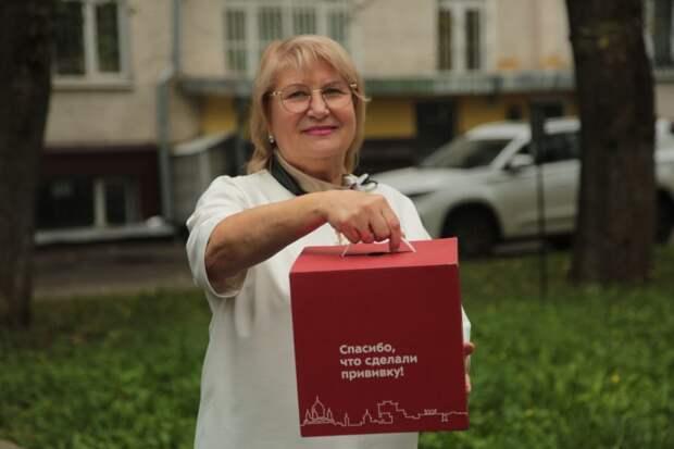 Пенсионерка из Бегового прошла вакцинацию, потому что ей некогда болеть