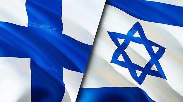 Около 400 человек вышли на улицы Хельсинки в поддержку Израиля