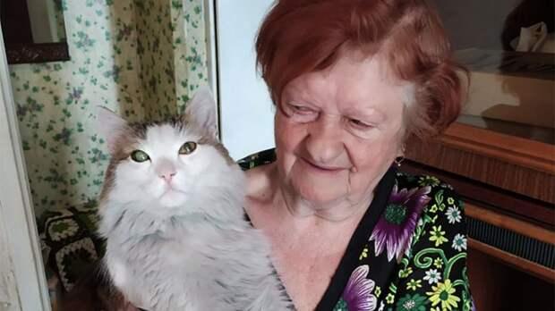 Челябинский кот спас хозяйку во время пожара