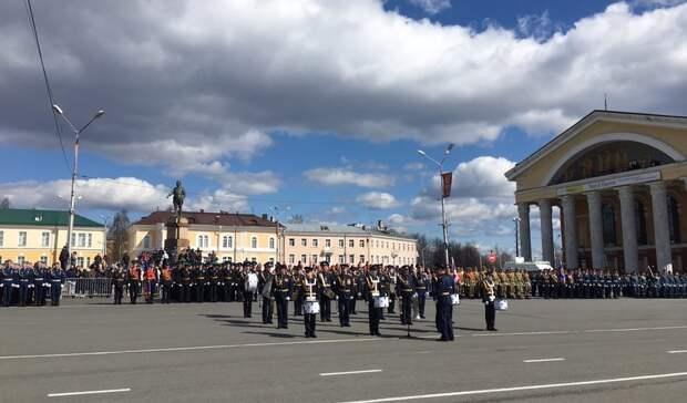Парад Победы прошел в Петрозаводске