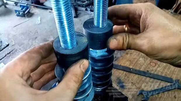Ручной станок для декоративного проката профтрубы