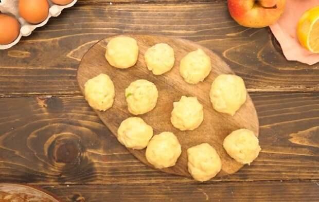 сформированные пончики