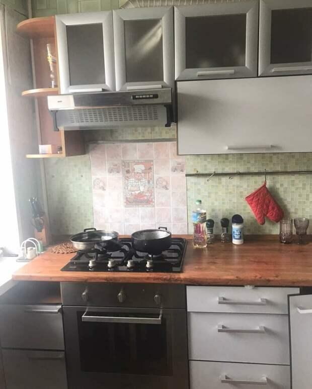 Самая необычная кухня которую я видела за последнее время До и после ремонта