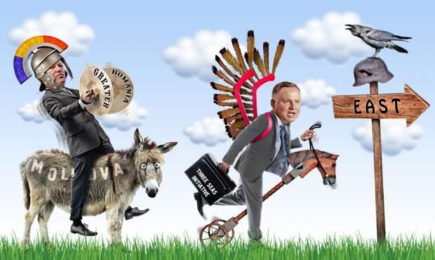 Контуры их новой восточной политики – Великая Румыния и Троеморье