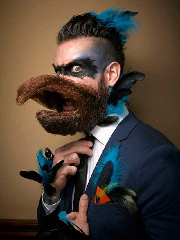 Костюм символ года для бородачей)))