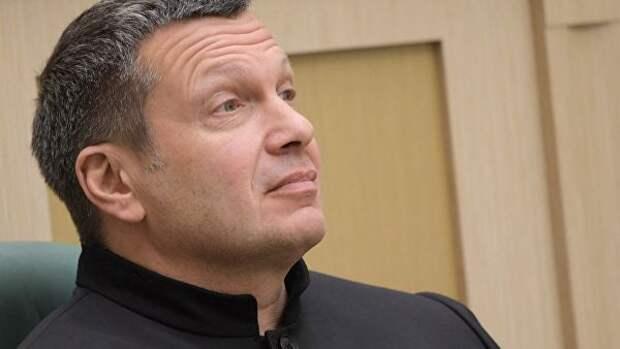 Соловьёв высмеял поставку на Украину надувных лодок из США