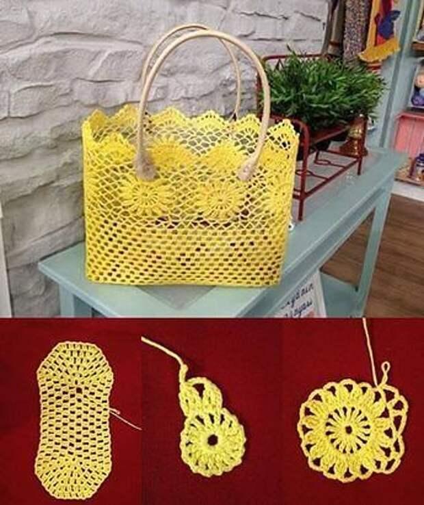 Такие красивые сумочки вяжутся крючком! Руки зачесались, когда увидела идеи.
