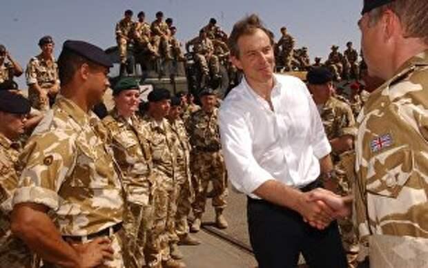 Блэр защищает войну в Ираке
