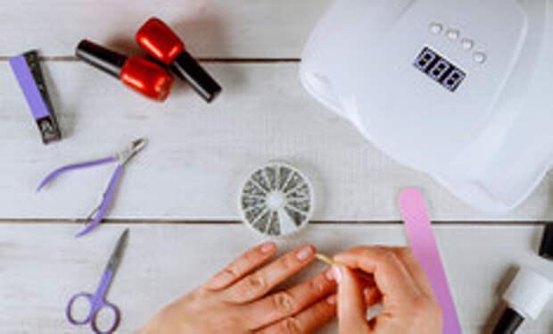 Маникюр нитью: делаем оригинальный дизайн ногтей