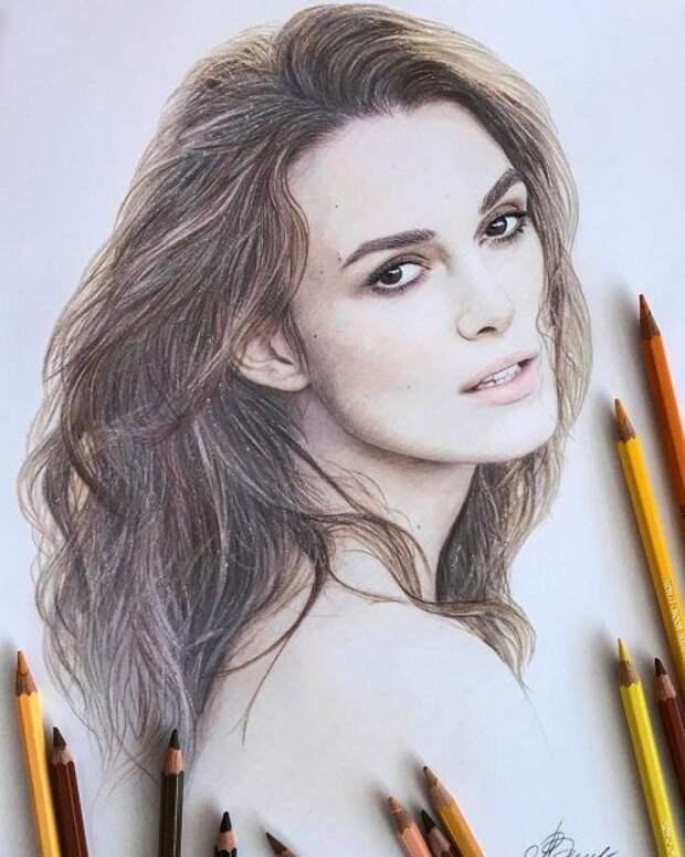 Невероятные рисунки карандашом талантливой российской художницы