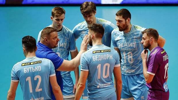 «Зенит-Казань» не сумел выйти в финал Лиги чемпионов, уступив в «золотом сете» польской «Заксе»