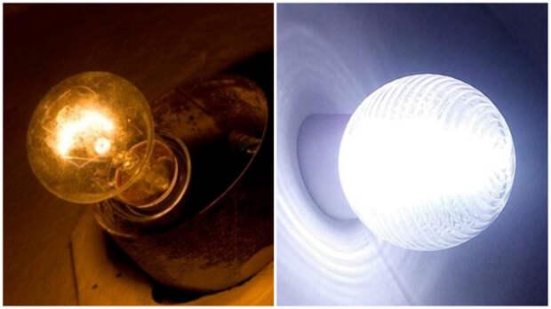 Лампа накаливания – это всё-таки вчерашний день.