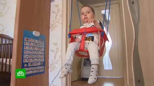 Четырехлетнему Шамилю срочно нужен портативный кислородный концентратор
