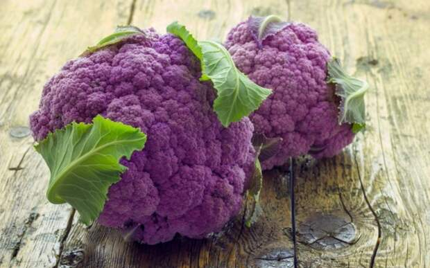 Фиолетовая цветная капуста