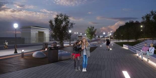 Жители САО проголосуют за благоустройство в парке Северного речного вокзала