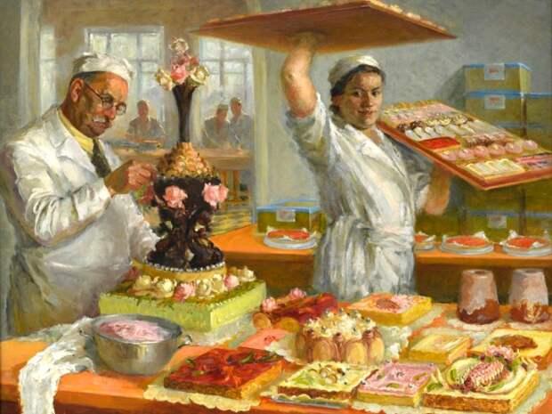 Кондитерские изделия в СССР были настолько вкусными, что их до сих пор вспоминают. /Фото: collectionru.com