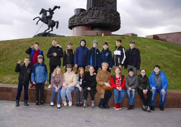 Конаковские школьники посетили Музей Победы в Москве