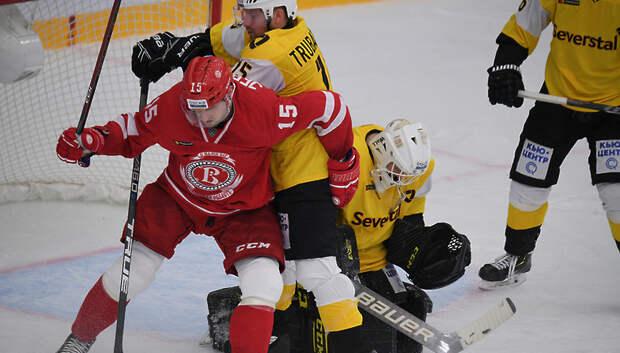 Подольский ХК «Витязь» вышел в плей‑офф чемпионата КХЛ