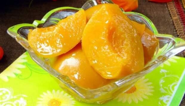 Как сохранить персики в целости в течение 1 года. Проверенный метод: консервируем ароматные и вкусные персики
