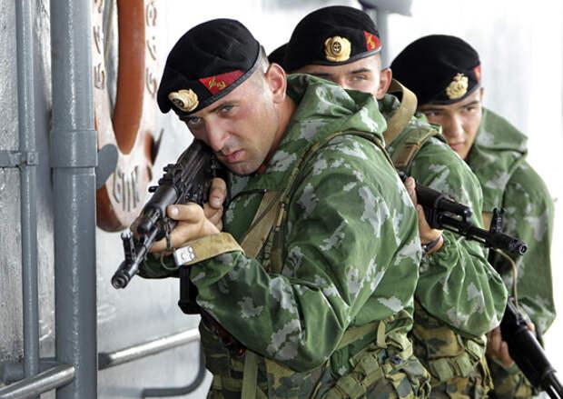 Американский журнал включил морскую пехоту РФ в пятёрку лучших в мире