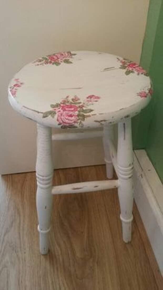 переделка кресла стула