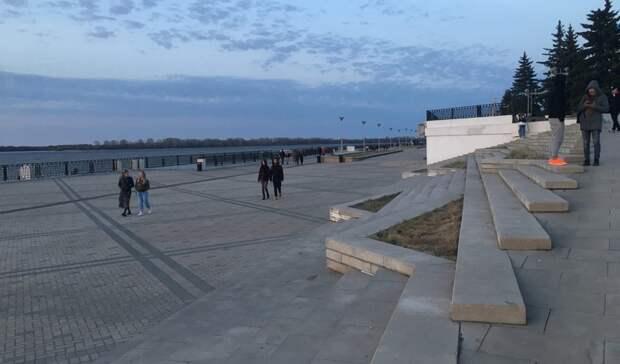 «Это еще невсе»: Никитин сообщил, когда установят туалеты наНижневолжской набережной