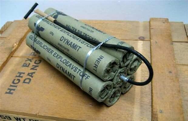 Динамит — адское изобретение Альфреда Нобеля