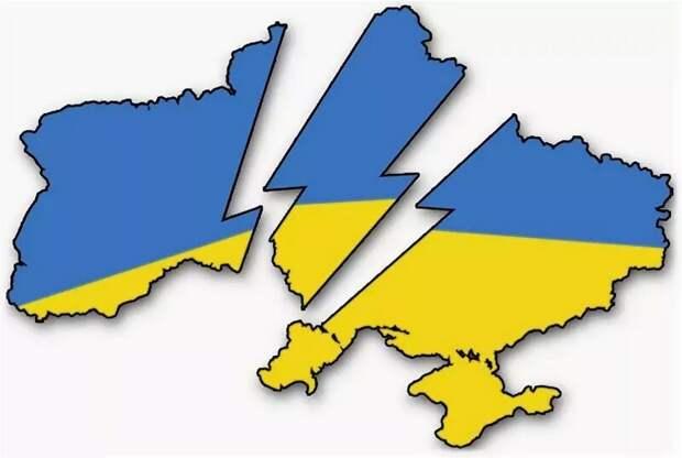 Украина распадается на глазах: киевские власти больше не в состоянии скрывать правду