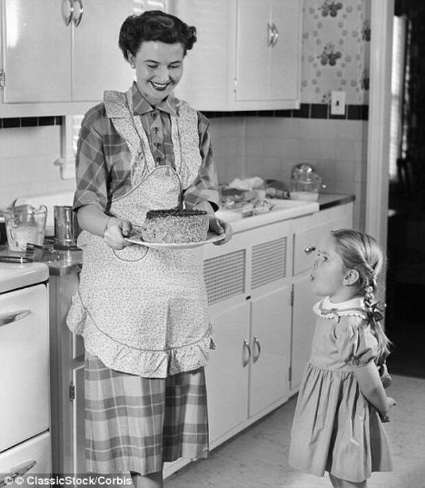 Очаровательные ретро дочки -матери.