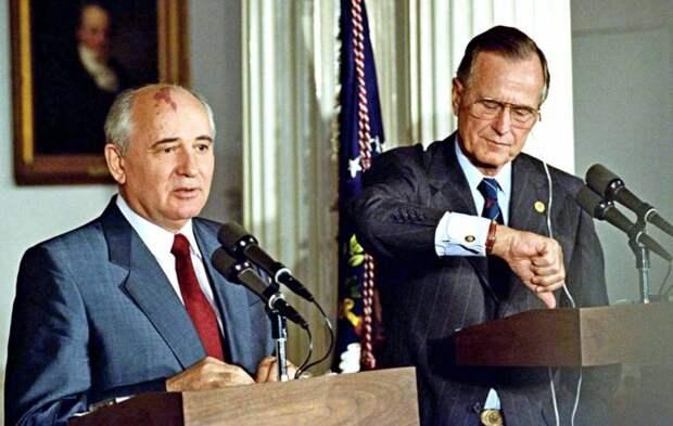 Мальтийский «крест» на СССР: как Горбачев Бушу страну продавал